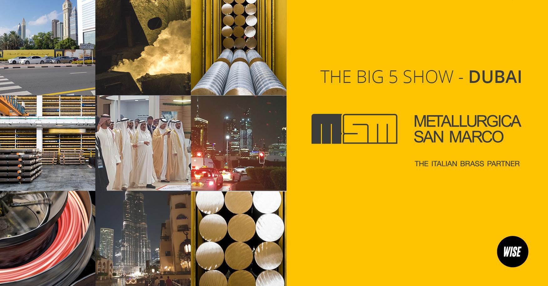organizzazione fiera internazionale Metallurgica San Marco a Dubai