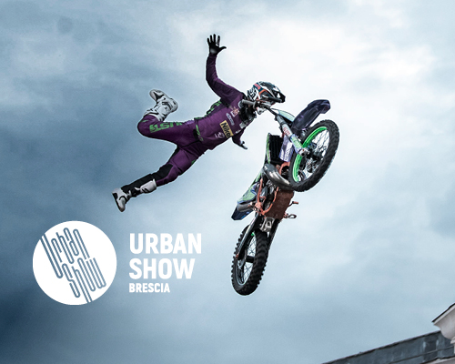 Evento cittadino Urban show - motocross freestyle