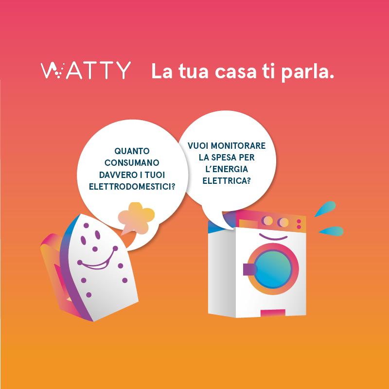 """Visual campagna marketing """"la tua casa ti parla"""""""