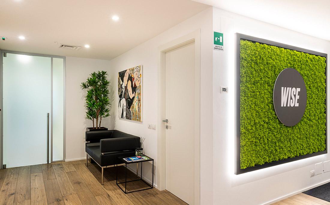 Gruppo WISE - Nuovi uffici Reception