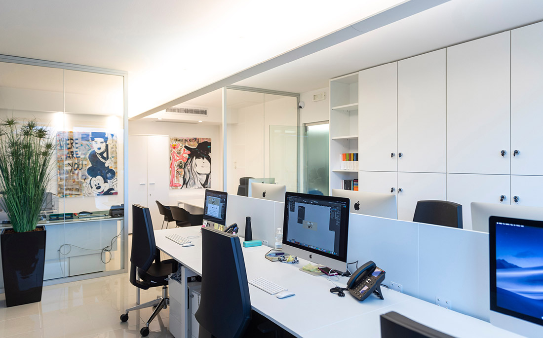 Gruppo WISE - Nuovi uffici Reparto grafico
