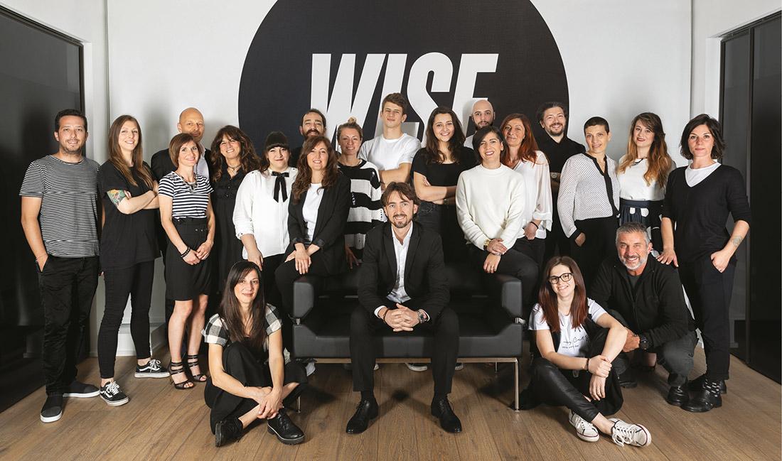 Il team 2019 di Gruppo WISE - Agenzia di comunicazione a Brescia