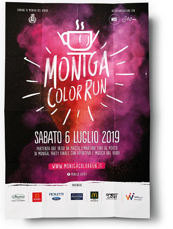 Visual organizzazione eventi - Color Run 2019