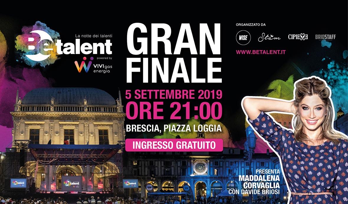 Organizzazione evento cittadino talent show - Be Talent